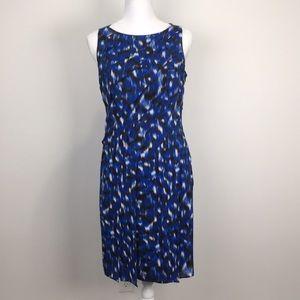 Ann Taylor Silk Layered Sheath Dress